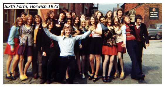 Crown Crowd, Horwich 1973